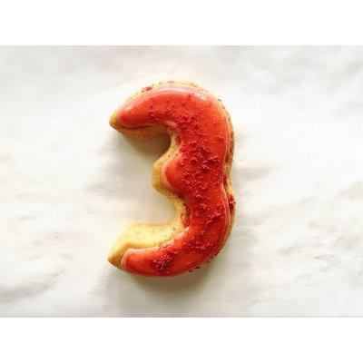 【グルテンフリー・卵不使用】アイシングクッキー ナンバー3(1枚入り)