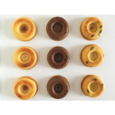 【グルテンフリー】乳製品不使用焼きドーナツセット9個入り バニラ/チョコ/かぼちゃ
