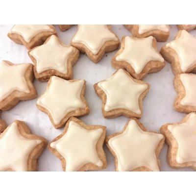 【グルテンフリー・卵不使用】アイシングクッキー星(3枚入り)