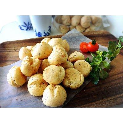 【グルテンフリー】おつまみシューケット(Sサイズ)/ブラックペッパー&チーズ/一味唐辛子の画像1
