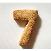 【グルテンフリー・卵不使用】アイシングクッキー ナンバー7(1枚入り)