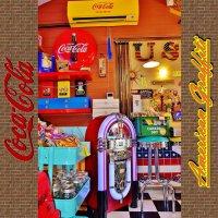 ワーリッツァーにそっくりなジュークボックス型プレーヤー♪ 【Coca Cola Juke Box/Hollywood】【メーカ...