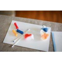 店頭支払のみ 3色パステルアート体験会「五感で描く抽象画」