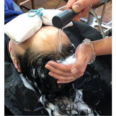 頭皮環境が気になる方必見!!【頭寒足熱美容法】 頭皮リラクゼーションエステ(90分)  現金決済のみ