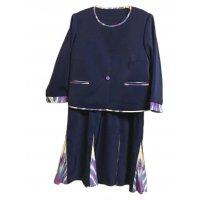 フレアスカートタイプ/春のワンピース&ジャケット/ウズベキスタンの伝統模様/アトラスのオーダーメ...