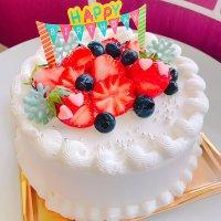【店頭受け取り専用】プティル特製デコレーションケーキ5号