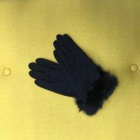 ファー付き手袋(アンゴラ)