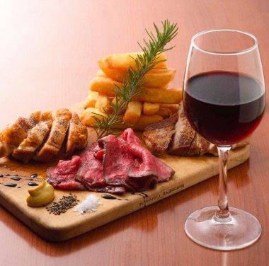 【一般参加者用】2018/1/14 ステーキ食べ比べとワインのマリアージュin京都【当日支払い限定】のイメージその1