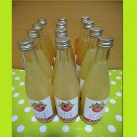 酵素栽培のりんごジュース12本セット(ストレート&すりおろし6本づつ)