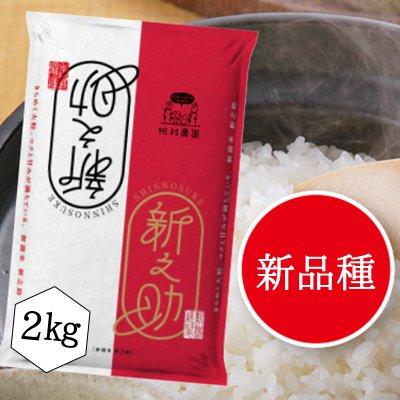 【桃川農園】桃川産新之助精米【2キロ】