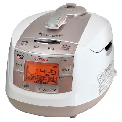 自動発芽炊飯器CUCKOO 6合炊き(1〜2名用)