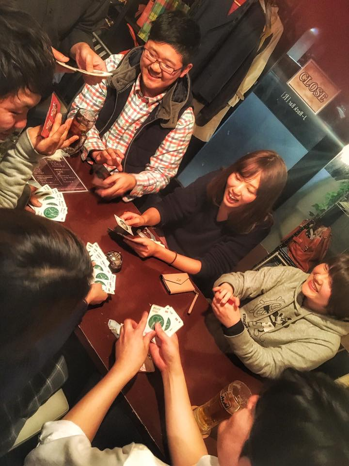 ボードゲーム飲み会大盛り上がり! 20170413