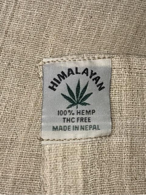 ネパールHEMP 100%(本麻)シーツ